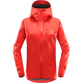 Haglöfs L.I.M Jacket Women pop red